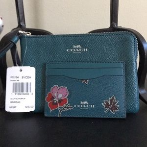 🌹Coach purse with card holder